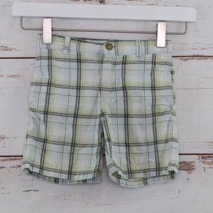 Plaid shorts Janie and Jack 3T